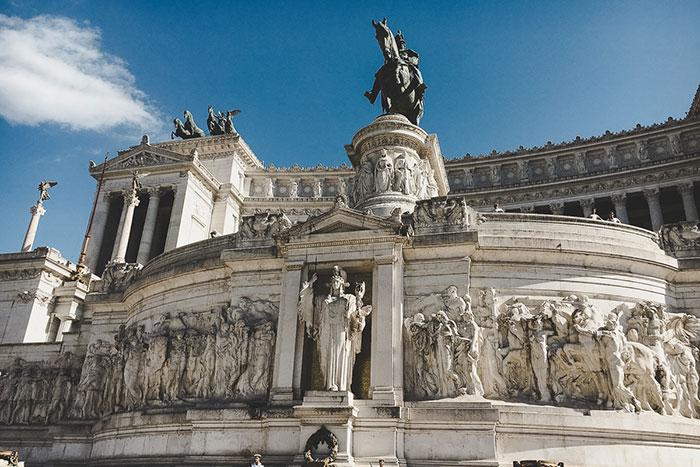 Piazza Venezia Architektur
