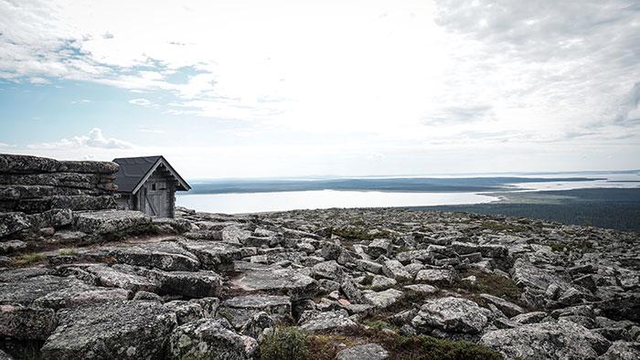 Pyha Nattanen Weg Panorama