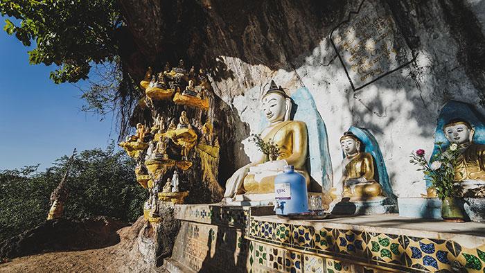 Radweg Buddhistische Hohlen
