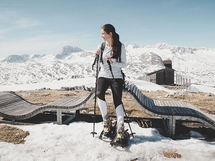 Sabrina am Dachstein