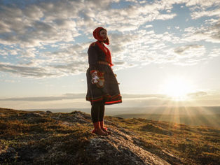 Sami Frau Lappland