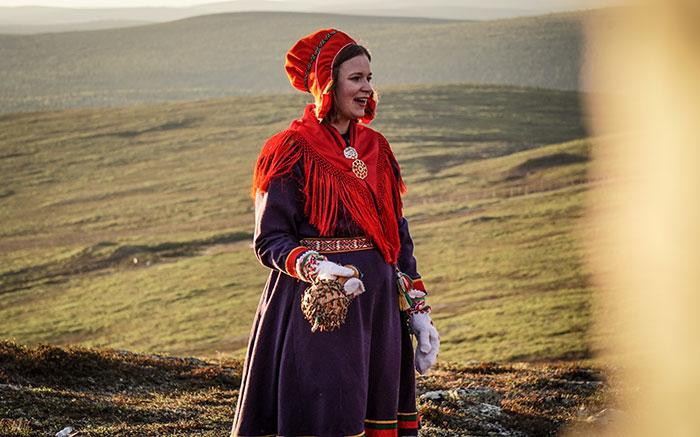 Sami Frau singt