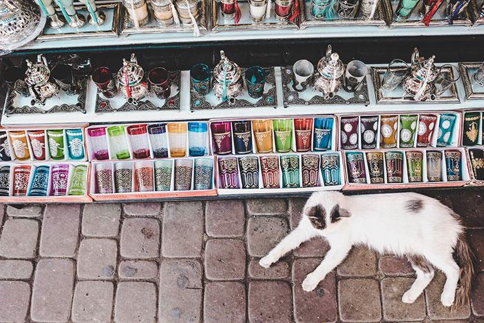 Souks in Marrakesh