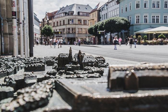 Stadtmodell Erfurt