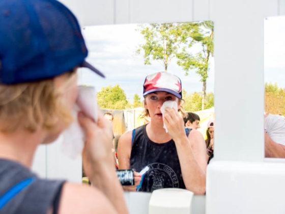 Survival Tipps Festival Hygiene
