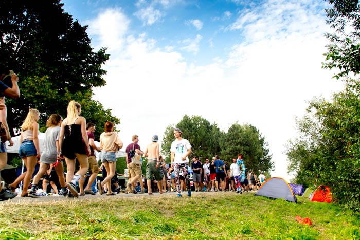 Survival Tipps Festival Zelten