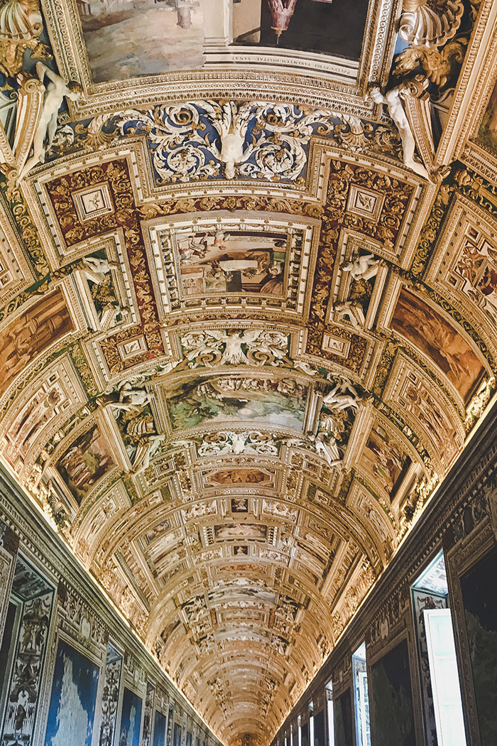 Vatikan Deckenmalerei