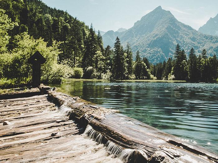 Wasser und Landschaft