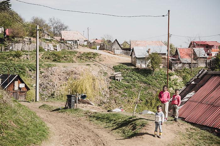 Zigeunerkinder aus Prislop