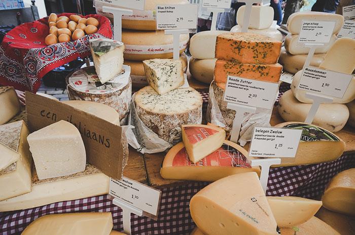 Amsterdam Markt Käse
