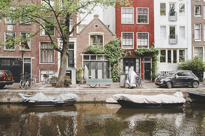Amsterdam Picknick Parkbank
