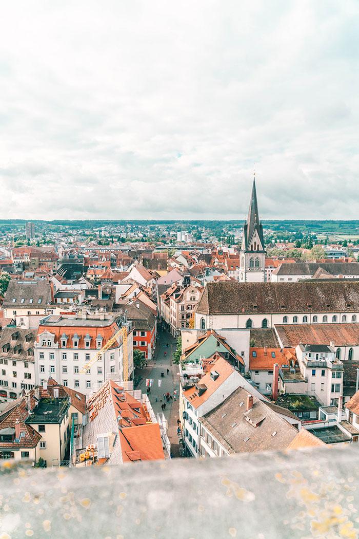 Aussicht vom Münster Konstanz
