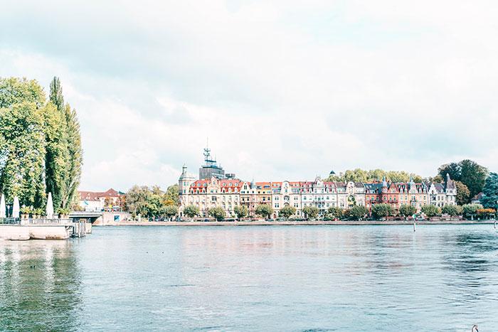 Blick auf Seestrasse Konstanz Reisetipps