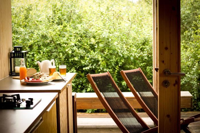 Nachhaltig Reisen mit Good Travel - Re:hof Gartenhaus Lupulus