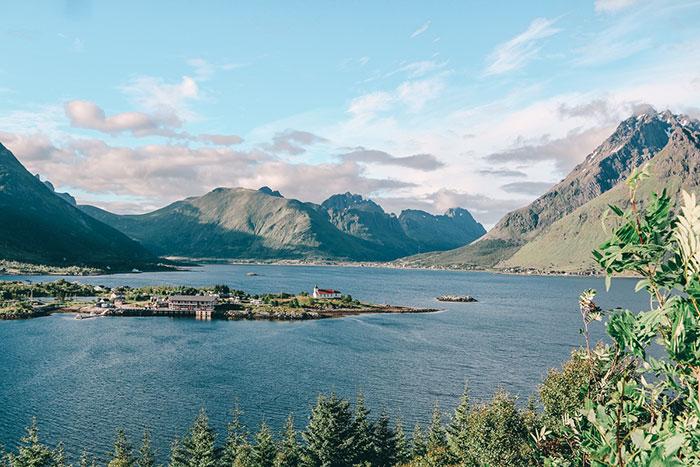Fjorde Wandern Norwegen
