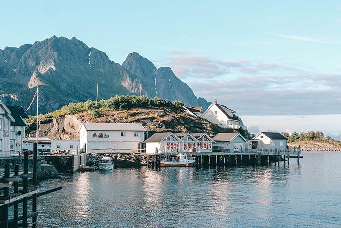 Henningsvear Norwegen Lofoten