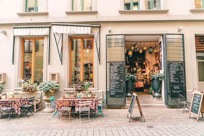 Konstanz Cafe Voglhaus