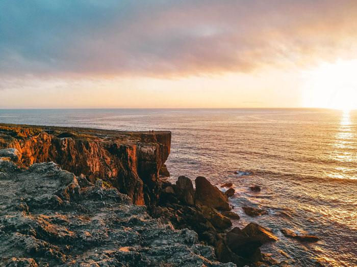 Küste in Portugal