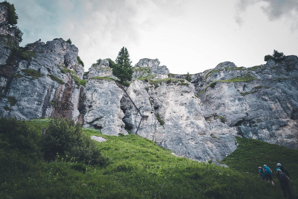 Am Pinut-klettersteig