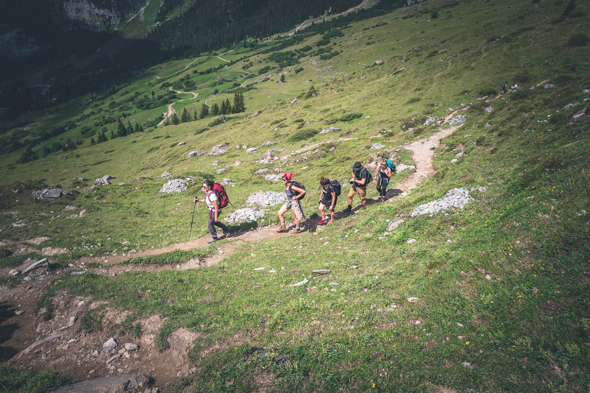 Panoramaweg zu Segneshütte
