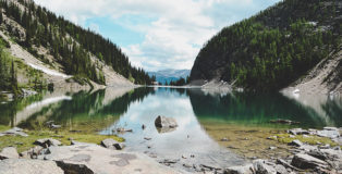 Lake Agnes Kanada