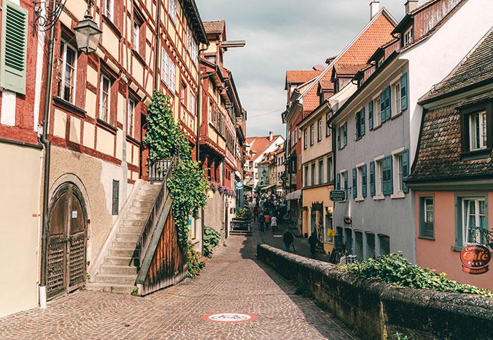 Meersburg am Bodensee Oberstadt