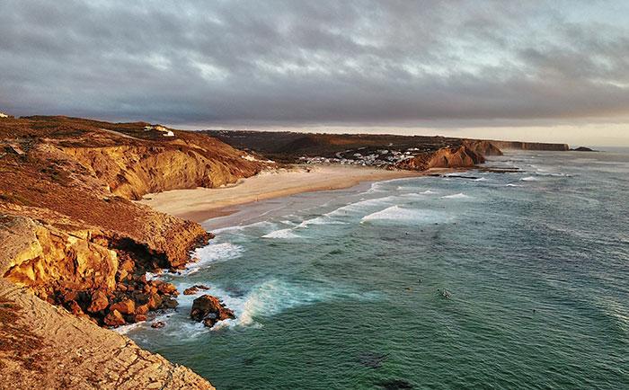 Monte Clérigo Küste Portugal