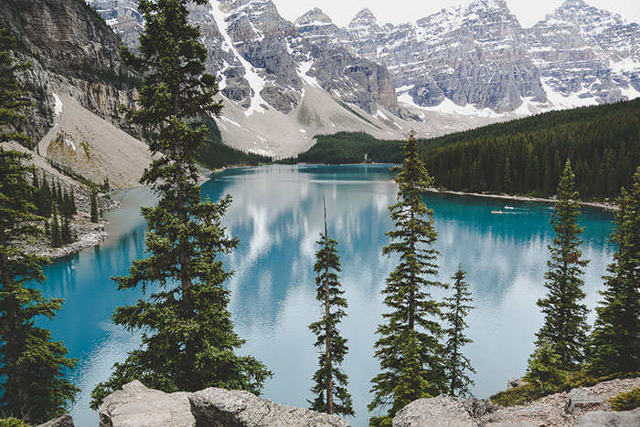Moraine Lake Kanada Reisetipps