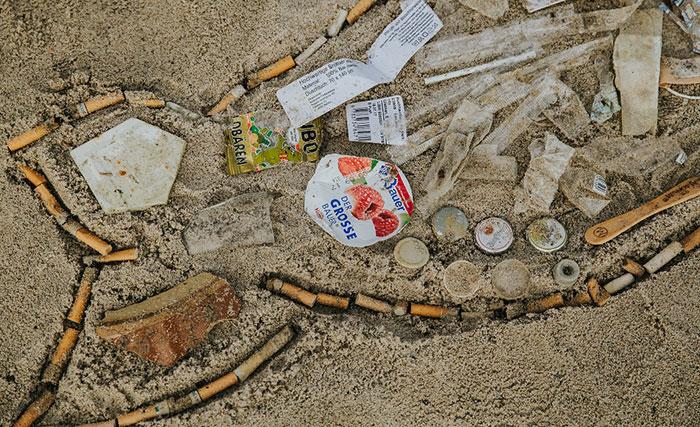 Müllwal Zigaretten