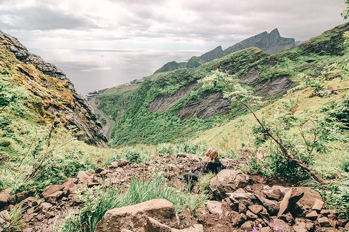 Natur Norwegen Reinebringen
