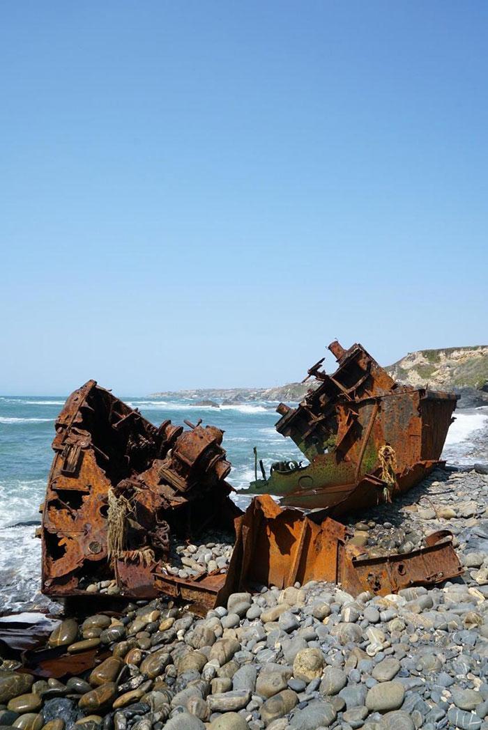 Portugal Schiffswrack