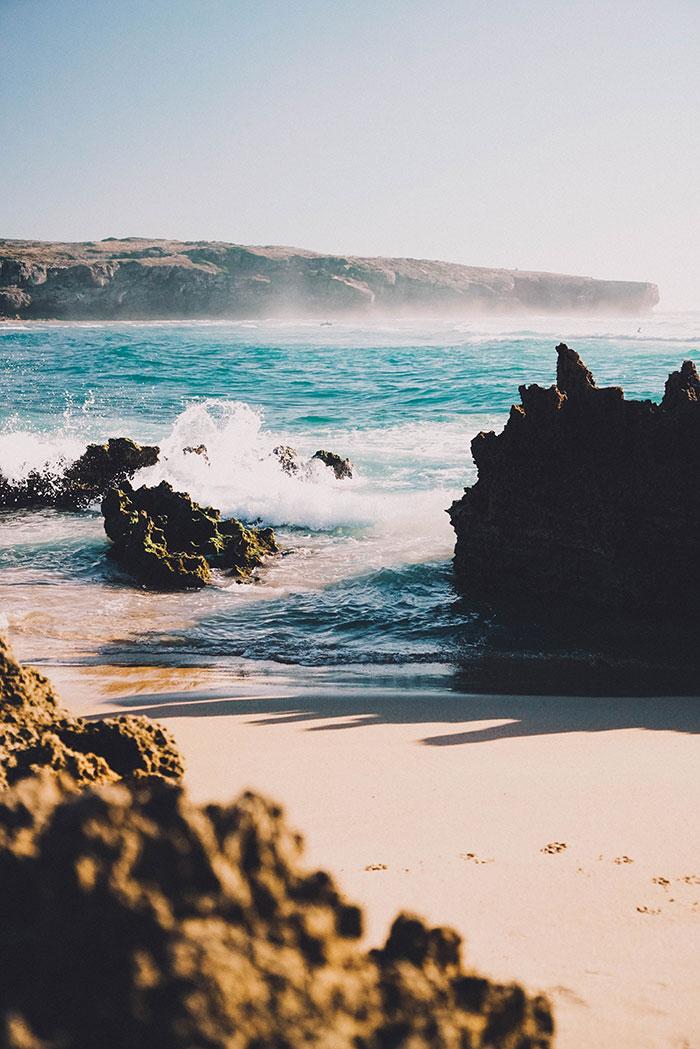 Praia Amoreira Strand