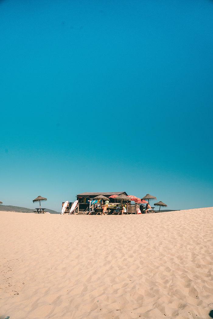 Praia da Bordeira Strandbar