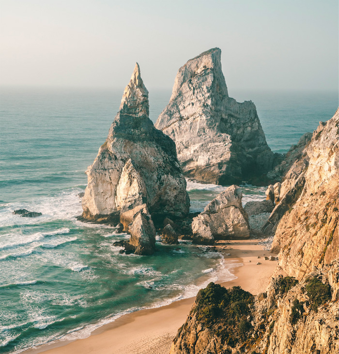 Praia da Ursa in Portugal