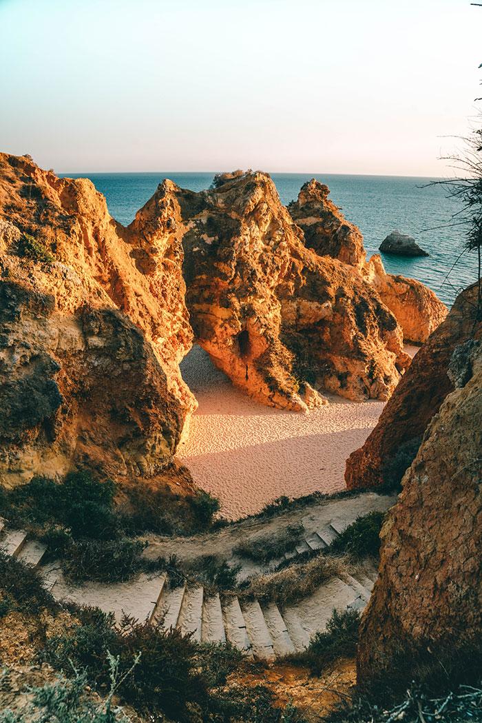 Praia dos Tres Irmaos Algarve