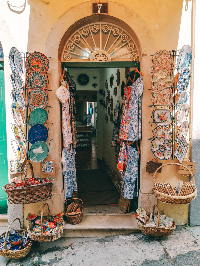 Shops in Portugal