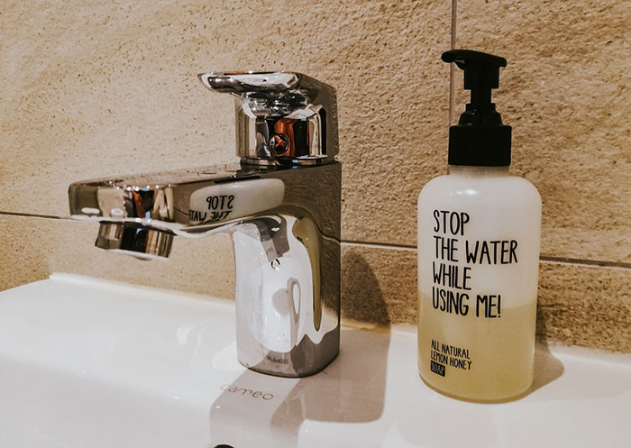 Stop Water Seife