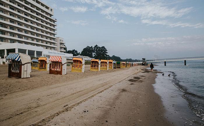 Strandreinigung Ostsee