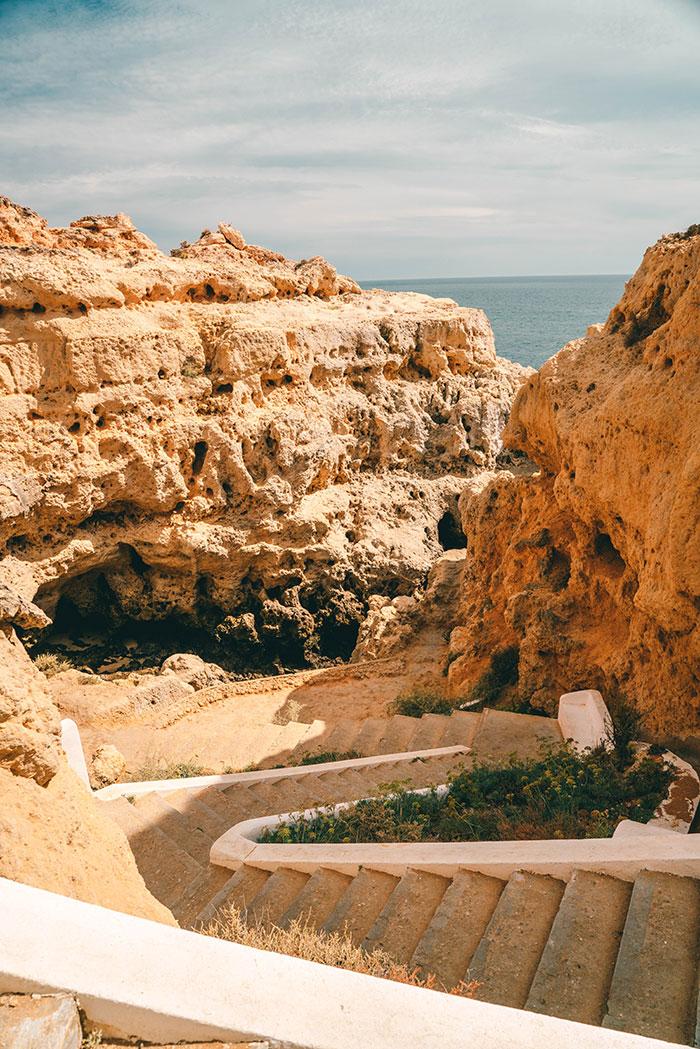 Treppen Algar Seco Portugal