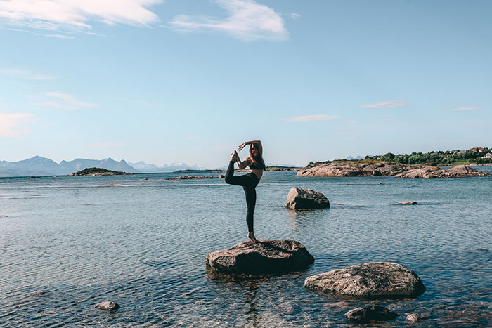Yoga Norwegen Lofoten