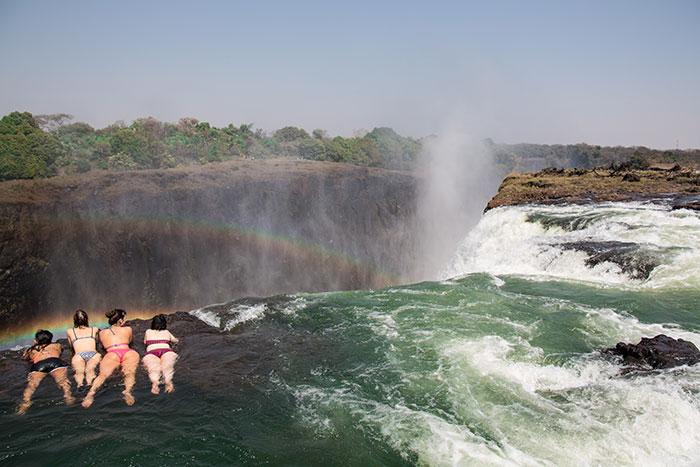 Baden Devils Pool Sambia