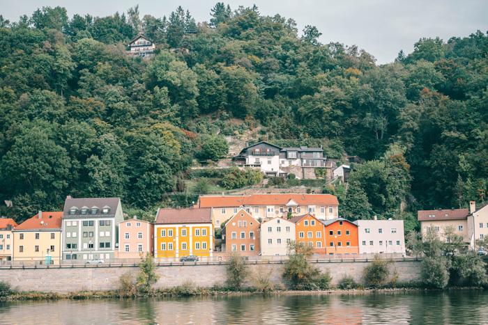 Bunte Häuser Passau