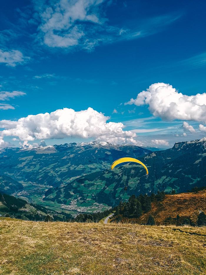 Fallschirmspringen in Tirol