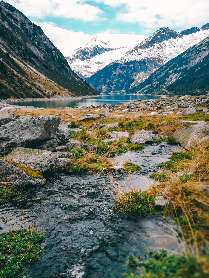 Fluss in Klein Tibet