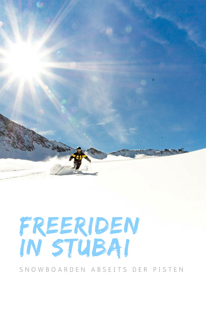 Freeriden in Stubai