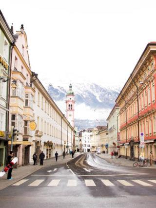 Innsbruck im Winter Altstadt