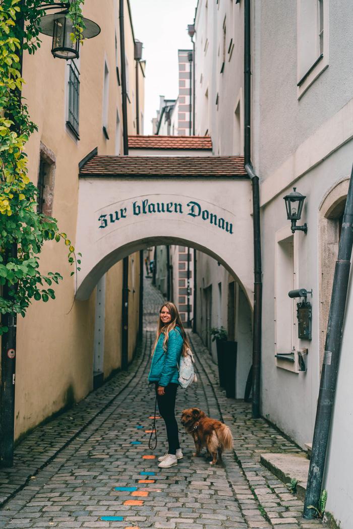 Künstlergasse Passau