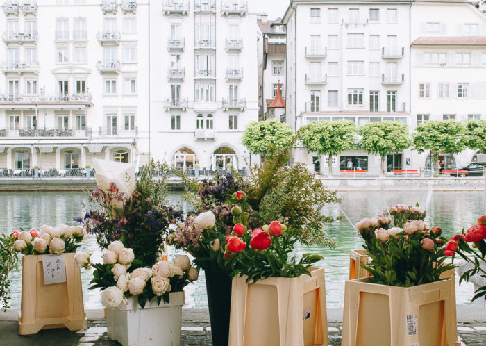 Wochenmarkt in Luzern