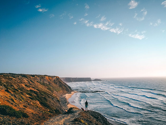 Aljezur in Portugal Strand