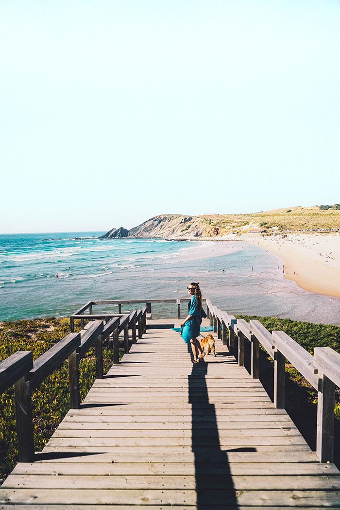 Praia da Amoreira Aussichtssteg